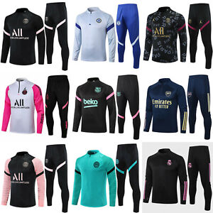 Sportswear Suit New Kids Boy Youth Training Soccer Tracksuit Sports Outfits