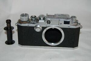 Canon IID /2d Vintage 1952 Japanese Rangefinder Camera. Service. 138685. UK Sale