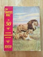 1959 Stoeger The Shooters Bible No. 50  Gun Catalog Book Golden Anniversary