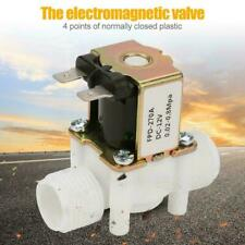 Dc 12v Plastic Normally Closed Electric Solenoid Valve For Water Control