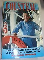 Cousteau : The Captain and His World Hardcover Richard Munson