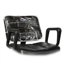 Pc-19901 Barber Salon Beauty Hair Art Clear Chair Back Replacement Cover Square