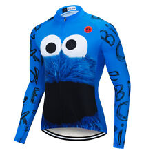 Men's Cycling Jersey Bike Clothing Bicycle Wheel Long Sleeve Top Jacket