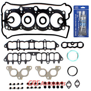 Fits 90-95 2.0 TOYOTA CELICA MR2 TURBO Head Gasket Set + Silicone 3SGTE