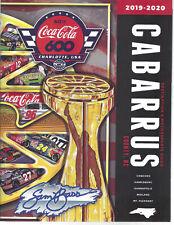 "2019 CABARRUS COUNTY ""SAM BASS COVER"" DESTINATION MOTORSPORTS GUIDE NASCAR"