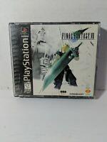 PlayStation Final Fantasy VII CIB  PS1  black label Squaresoft read description
