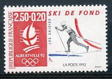 STAMP / TIMBRE FRANCE N° 2742 ** JEUX OLYMPIQUE ALBERVILLE 1992 SKI DE FOND