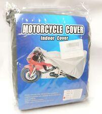 KR Motorradabdeckung Motorrad Garage XL 260x101x104cm grau Outdoor/Indoor cover