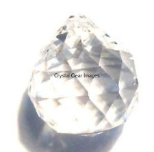 Lot of 3-40mm Feng Shui Clear Asfour Crystal Ball Prism Wholesale Feng Shui CCI