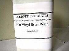 5 gals 700 Vinyl Ester Resin plus MEKP Catalyst and surfacing wax