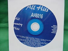 All Hits~COUNTRY~Karaoke~8016~~Guys Do it All the Time~~~One Boy, One Girl~~CD+G