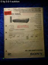 Sony Service Manual SLV E727VC /E730VC /E730VP /E735VC /E730UX (#4157)
