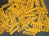 Lego Technic - YELLOW Beams - 6 pin / 5 Hole Brick x 10