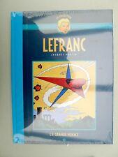 MARTIN Lefranc Hachette dos toilé bleu 1 La grande menace