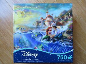Disney Thomas Kinkade  little mermaid 750  piece jigsaw