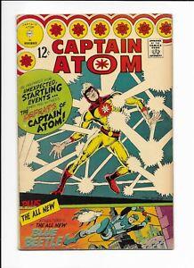CAPTAIN ATOM #83 FN 1st app Ted Kord Blue Beetle Steve Ditko Charlton 1966 KEY