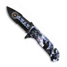 NAVAJA SWAT ALBAINOX FOS IMPRESION 3D S.W.A.T. HOJA 8,2 CM KNIFE 18136-A
