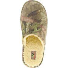 MENS CAMOUFLAGE MOCCASINS CAMO MOSSY OAK SLIPPERS HOUSE SHOES SIZE 11 ~ NEW