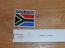 SUD AFRICA colore bandiera toppa - NUOVO - COME usurate su S2000 Camicia