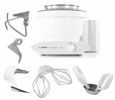 Bosch Mixer with Bowl Scraper & Cookie Paddles w/Metal Whip Drive