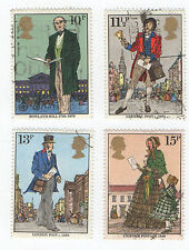 GB Stamps SG1095-1098,  1979 Death Centenery of Sir Rowland Hill.  VFU
