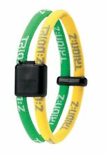 Large Trion Z Dual Band Magnetic Ionic Bracelet Yellow Green New In Package