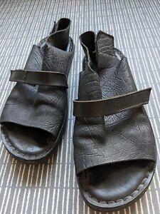 Trippen Black Summer Sandals