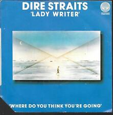 "45 TOURS / 7"" SINGLE--DIRE STRAITS-LADY WRITER / WHERE DO YOU THINK YOU'RE GOING"