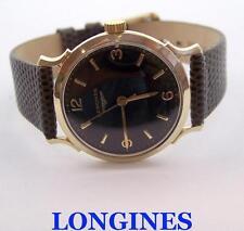 Vintage 14k LONGINES Mens Winding Watch c.1950s Cal 280* EXLNT* SERVICED