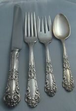 ! Reed & Barton French Renaissance Sterling Silver Four Piece Setting
