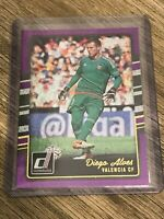 Diego Alves 2016-17 Panini Donruss Soccer Purple Valencia Card #178