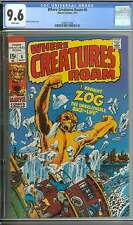 WHERE CREATURES ROAM #6 CGC 9.6 WHITE PAGES
