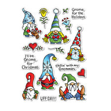 Merry Christmas Dwarfs Clear Stamp For Diy Scrapbooking Paper Cards Crafts