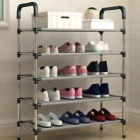 Multifunctional 4/5/6 Layer Shoe Rack Shelf Cabinet Stack Shelf Storage Cabi sdf