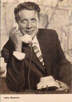 uralte AK Deutscher Schauspieler Heinz Baumann //59