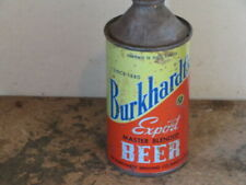 BURKHARDT. EXPORT BEER. DIFFICULT.  SOLID.  AKRON OH. CONE TOP
