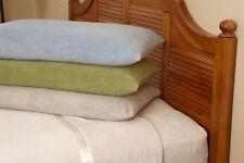 Microfiber Luxury Coral Fleece Bed Sheet Set 6 pieces (California King, Gray)