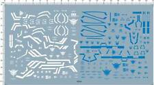 Super Detail Up MG 00 seven sword G & RAISER 00R Gundam Decal Model Kit 5954