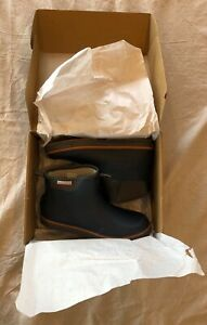 New Grunden's Deck Boss Ankle Boot in Deep Water Blue-Brand New-Size 10