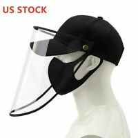 NEW ANTI Spit Saliva Mist Hat Proof face Protective Cap shield Outdoor Unisex US