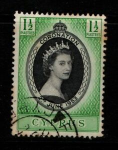 Cyprus 1953 Coronation SG172 Used see note