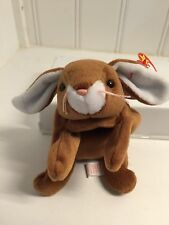 A Bunny Named~EARS soft plush toy TY BEANIE BABY Babies RT NWT Easter
