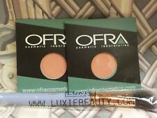 OFRA Cosmetic Blush Chameleon.14 oz  Lot of 2 with a Luxie Brush