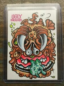 2020 Topps On-Demand #12: Ugly Stickers Sketch Card 1/1 by: CHENDUZ