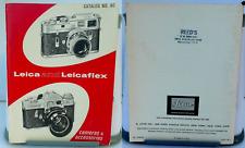LEICA AND LIECAFLEX CATALOG No. 40 - CAMERAS & ACCESSORIES - M2, M3, M4