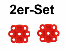 Saeco Primea Multifunktionventil Formdichtung Dichtung Ventil 2er Set rot NEU