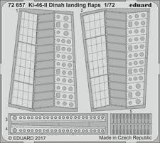 Eduard PE 72657 1/72 Mitsubishi Ki-46 II 'Dinah' volets d'atterrissage Hasegawa