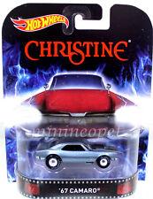 HOT WHEELS CFR38 CHRISTINE 1967 67 CHEVY CAMARO 1/64 LIGHT BLUE