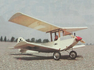 Doppeldecker Sport Biplane Plans,Templates and Instructions 32ws
