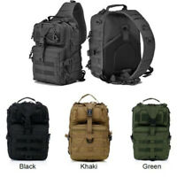 New Tactical Assault Pack Sling Backpack Army Molle Rucksack Hiking Hunting Bags